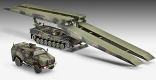 Brückenlegepanzer Biber & Dingo